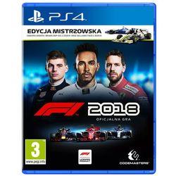 Techland Codemasters f1 2018 edycja mistrzowska playstation 4