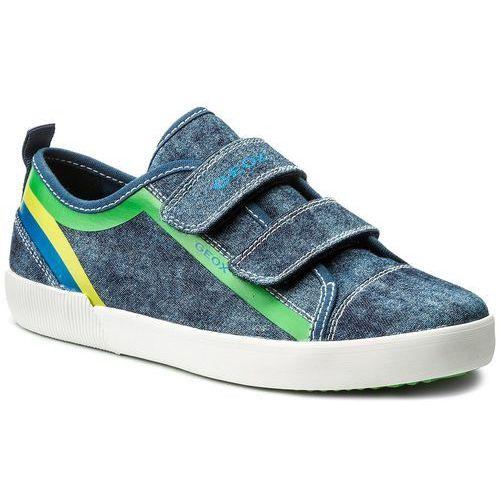 Sneakersy GEOX J Cordian B.A J925DA 0CEFU C9AK4 S AnthraciteRoyal