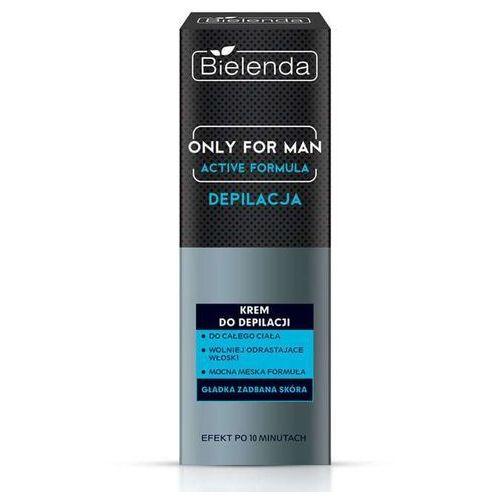 Bielenda only for man krem do depilacji active formula 100ml - Super oferta