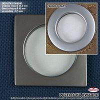 Przelotka kwadro chrom/mat 10 szt (z) md0050/012/030/000040/1 marki Markizeta