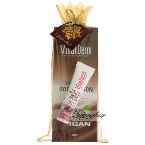 Arganowy balsam do ciała + krem do rąk - zestaw świąteczny Vitalderm