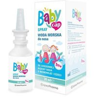 Spray Babycap spray woda morska do nosa 30ml