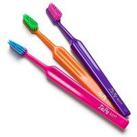 Tepe colour soft szczoteczki do zębów 3 szt. pink & blue & light green (easy access - efficient cleaning)