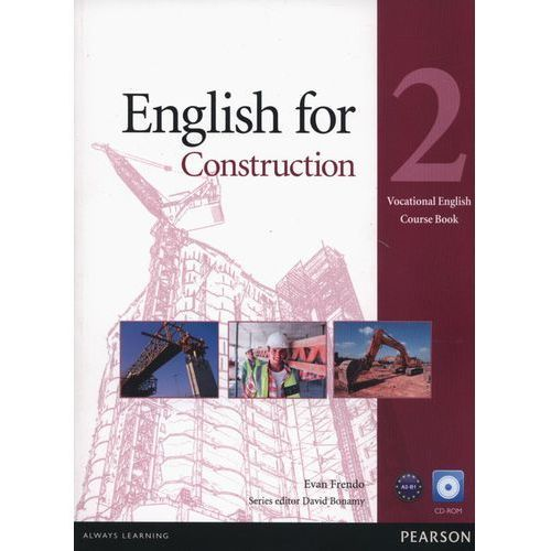 English For Construction 2 Vocational English. Książka Ucznia Plus CD-ROM (9781408269923)