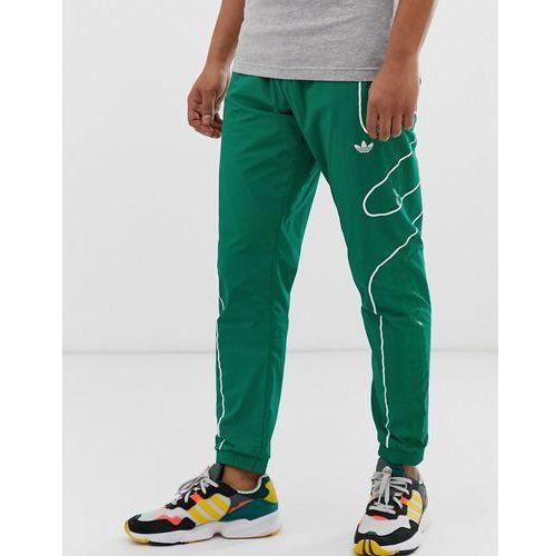 Flamestrike joggers in green Green, w 3 rozmiarach (adidas Originals)