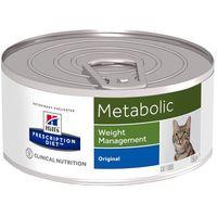 Hills prescription diet feline metabolic - 12 x 156 g