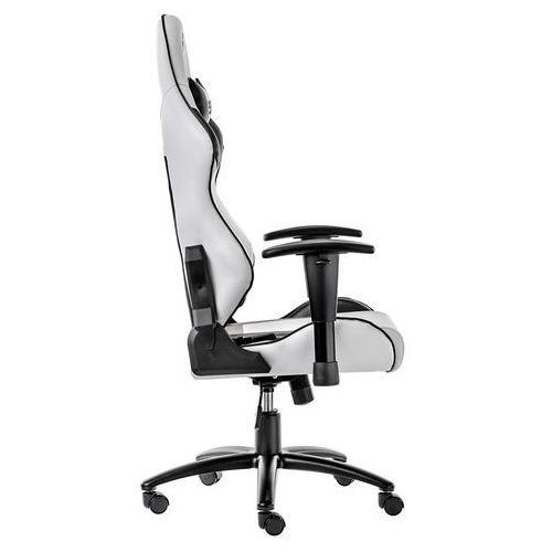 Fotel SPC Gear SR300 WHITE (Biały, skóra ekologiczna) (5904730204569)