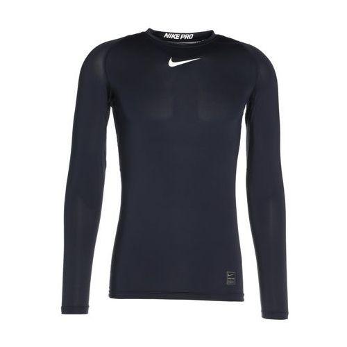 Nike Performance PRO COMPRESSION Podkoszulki obsidian/white/white, kolor niebieski