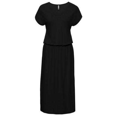 Sukienka midi bonprix czarny
