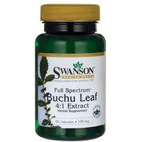 Kapsułki Swanson Full Spectrum Buchu Leaf (Bukko brzozowe) 100mg 60 kaps.