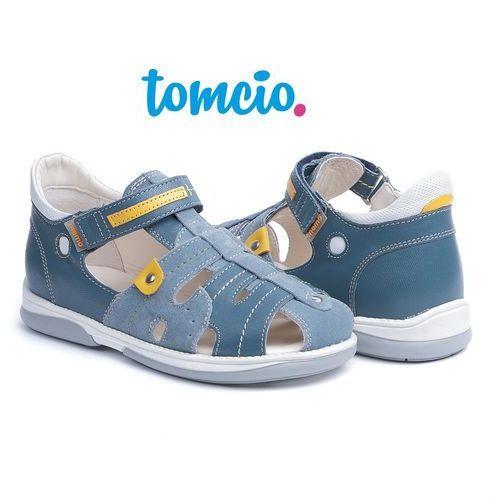 Sandały profilaktyczne Memo Palermo 3CH kolor dżinsowy