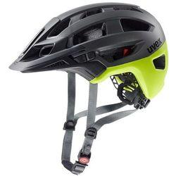 Uvex finale 2.0 kask rowerowy, grey/neon mat 52-57cm 2020 kaski rowerowe