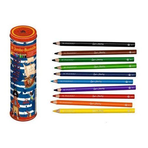COPPENRATH Kretki w puszce (10 kolorowych kredek) CAPTN SHARKY