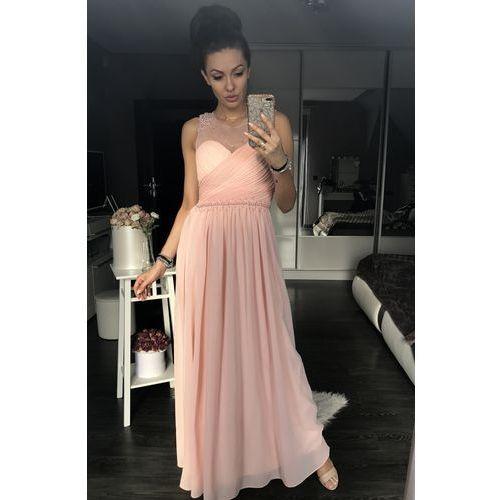 af37251e3e Eva  amp  lola sukienka pudrowy róż 42003-3