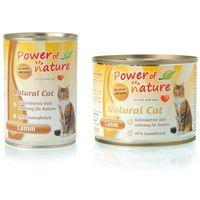 Power of Nature Natural Cat z jagnięciną, Waga: 200g -- Ekspresowa Wysyłka --