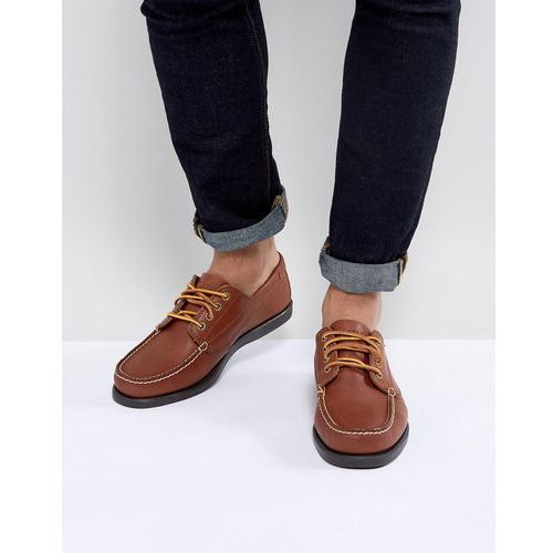 315a94e62813d ▷ Falmouth leather boat shoes in tan - brown (Eastland) - ceny ...