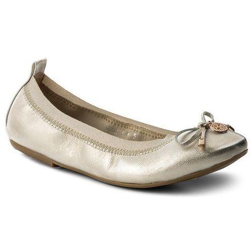 Baleriny - 986500-2 złoto janko marki Baldaccini