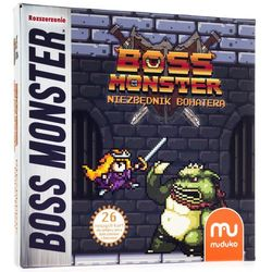 Boss monster: niezbędnik bohatera marki Trefl
