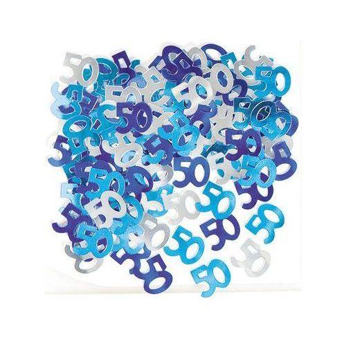 Konfetti Niebieskie Na 50 Tke Pięćdziesiątka 14 G Unique