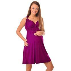 7dcb06afd9 Sukienka ciążowa CATE PURPLE