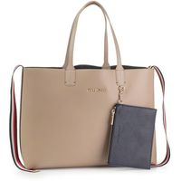 Torebka TOMMY HILFIGER - Iconic Tommy Tote Solid AW0AW07325 PC5