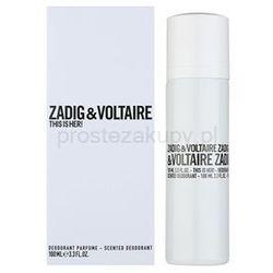 Dezodoranty dla kobiet Zadig & Voltaire Prostezakupy.pl
