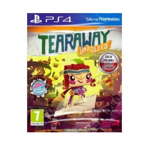 Tearaway unfolded gra playstation 4 sony interactive entertainment marki Sony computer ente.