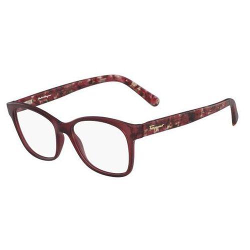 Okulary korekcyjne sf 2797 613 Salvatore ferragamo