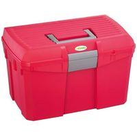Kerbl pudełko na narzędzia do pielęgnacji koni siena, malinowe, 328266