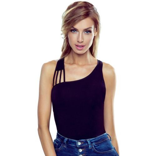 Iman koszulka bawełniana damska Eldar Romantica Active Czarna - Czarny, kolor czarny