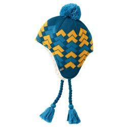 Jack wolfskin Czapka magic mountain knit hat kids - moroccan blue