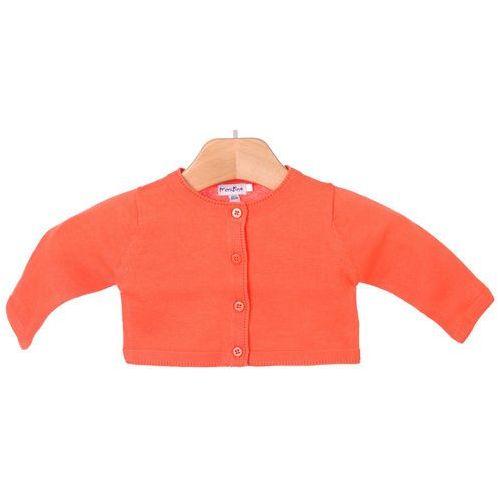 Primigi sweter dziewczęcy 74 pomarańczowy, kolor pomarańczowy