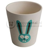 Jack-n-jill króliczek - biodegradowalny kubeczek na szczoteczki marki Jack n'jill