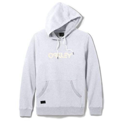 Oakley bluza męska heritage hoodie light heather grey s