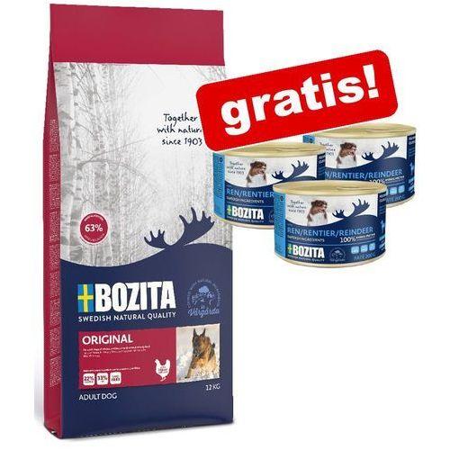 Bozita Naturals Senior - karma dla psów starszych i niskim poziomie aktywności, 11 kg (7311030139428)