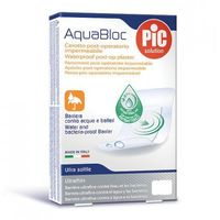 Plastry Aquabloc POST-OP 25x10cm antybakteryjne (25 szt.)