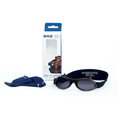 Okulary przeciwsłoneczne dzieci 0-2lat UV400 BANZ - Onyx