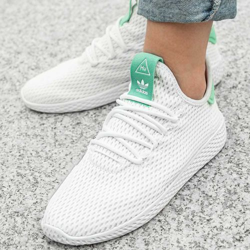 Buty sportowe damskie adidas Originals Pharrell Williams Tennis Hu (BY8717), kolor biały