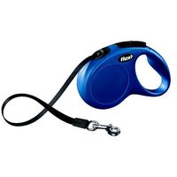 smycz automatyczna new classic xs taśma - 3m - do 12kg kolor: niebieski marki Flexi