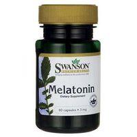 Kapsułki SWANSON Melatonina 3mg x 60 kapsułek