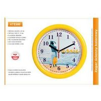 Zegar reklamowy kolor wąska ramka /257mm, ATE800