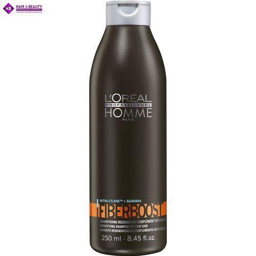 Loreal homme fiberboost szampon 250ml wzmacnia włosy i nadaje im objętość marki L'oréal