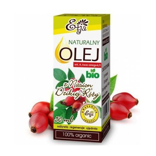 Etja Naturalny olej z nasion dzikiej róży BIO 50ml, ETJA