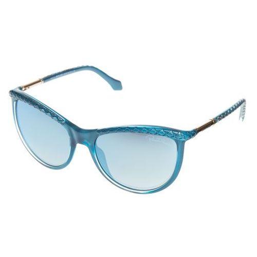 Roberto Cavalli Kajam Okulary przeciwsłoneczne Niebieski UNI, kolor niebieski