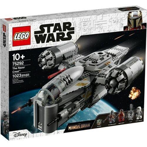 Lego STAR WARS Transportowiec łowcy nagródthe razor crest 75292