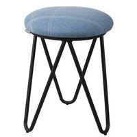 Zuiver  stołek raw vintage jasnoniebieski 1400011
