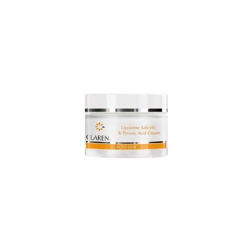 Clarena Acid Line, krem liposomowy z kwasami, cera tłusta i mieszana, 50ml