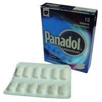 Tabletki Panadol Paracetamolum - przeciwbólowy 12 tabl.