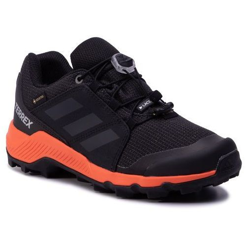 Buty adidas - Terrex Gtx K GORE-TEX BC0598 Cblack/Carbon/Truora, kolor czarny