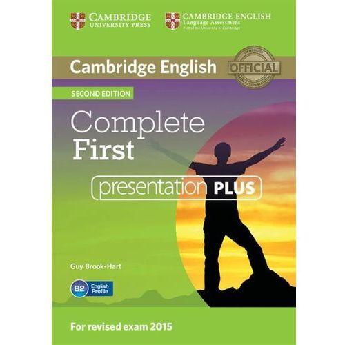 Complete first presentation plus dvd marki Cambridge university press